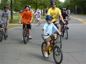 bicycling in West Windsor