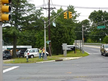 Beginning reconstruction of 571 Wallace Cranbury intersection