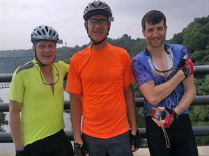 Day 3 Potomac, Ken C, Ken N, and Jerry