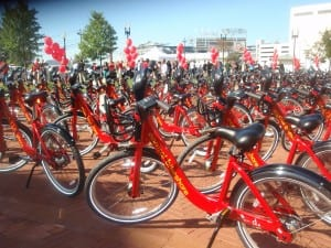 Capital Bikeshare bikes