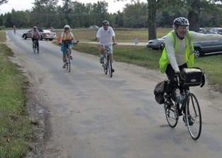 Dan Rappoport leads a tour through the Pine Barrens