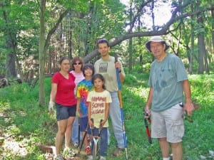 Rogers Preserve volunteers
