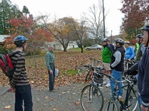 "Riders learn more about ""War of the Worlds"""