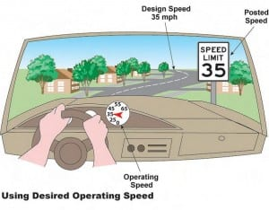 Using Desired Operating Speed