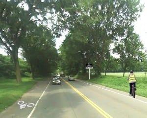 Washington Road-projected
