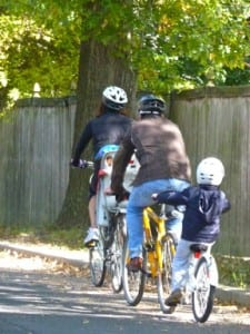 Family Cyclists