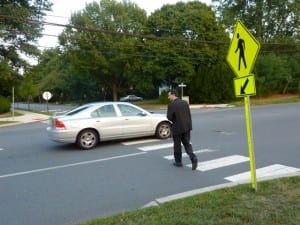 Image result for car stop for pedestrian