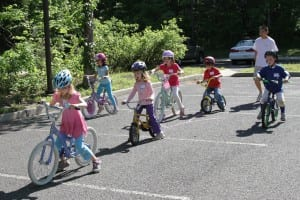 learn to bike class