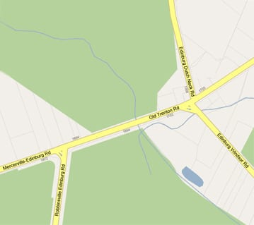 Old Trenton Edinburg Map