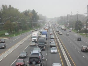 NJ Turnpike Crash Stops Rt 1