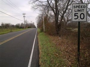 Windsor Rd speed limit 50